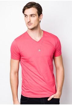 V Neck Plain Shirt