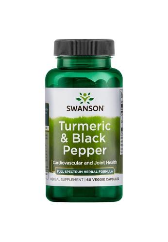 Pure & Well SWANSON TURMERIC & BLACK PEPPER 60 VEG CAPS 2B305ES2F07DEAGS_1