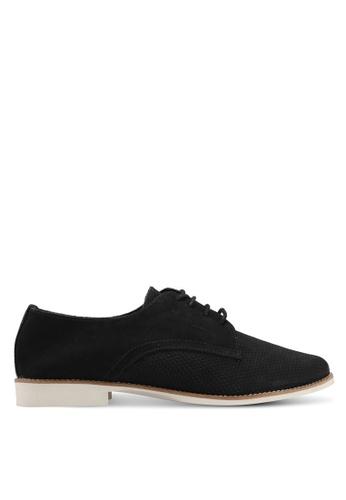 ALDO black Pantoja Lace Up Shoes F5CA2SHEE04C9FGS_1