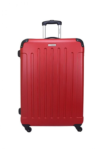"""Calvin Klein Calvin Klein Littleton  28"""" 4 wheels Hard Case Luggage - Red CA221AC98PYBSG_1"""