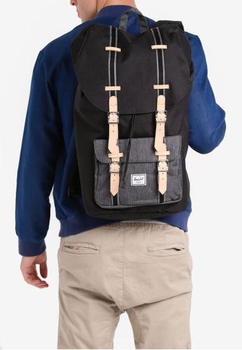 Herschel black Little America Backpack B43AAAC68A1906GS_1