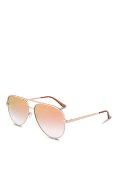 5f4559eee37e Quay Australia gold High Key Sunglasses E6643GL1EEE72EGS 1