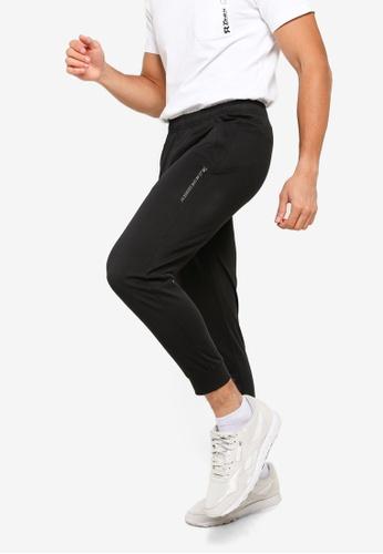 361° black Sports Life Knit Cropped Pants BD2A9AA1A6CE77GS_1