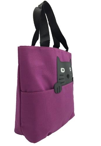 Stylesource pink Handbag Cat Des SC016E ST896AC0K5EMPH_1