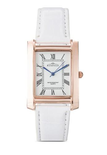 羅馬數字仿皮方錶, 錶類, 飾品esprit分店配件