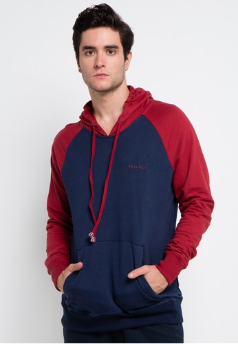 Tolliver navy Ragland Pull Over Hoodies 4D48FAACC9ADE5GS_1