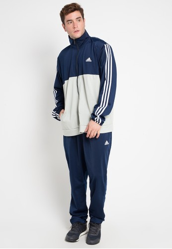big sale b9322 df37b adidas multi adidas back 2 basics 3-stripes track suit BF985AABFDA263GS 1