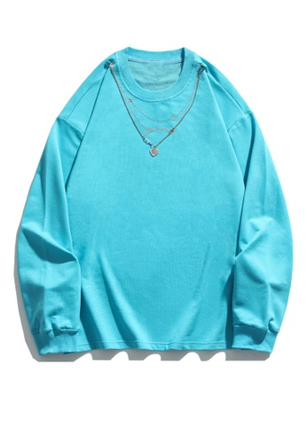 Twenty Eight Shoes Trend Necklace Decoration Long T-shirt HH1008 993AAAAC1D4A4CGS_1