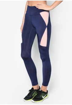Sport Fitted Colorblock Leggings