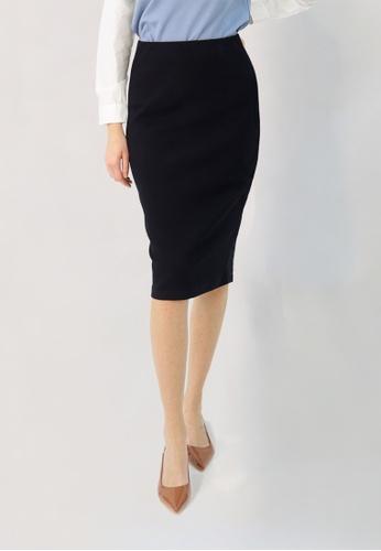 Cheetah black C.Union Pencil Skirt- CUL-12268 17BBAAA78E67E5GS_1