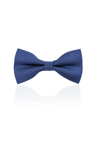 Kings Collection blue Blue Plaid Bow Tie (KCBT2047) DAEB4ACF91F64BGS_1