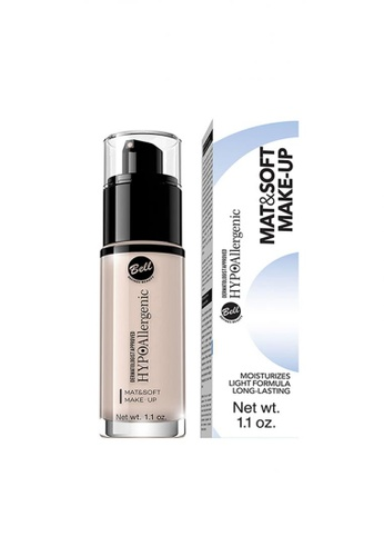 Farmona BELL HYPOALLERGENIC Mat&Soft Make-Up 04 Golden Beige 6F747BEEEF3FAAGS_1