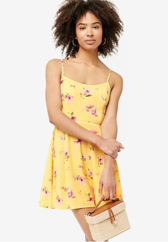 4a67b6006e Floral Print Fit & Flare Dress