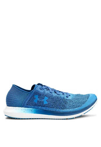Under Armour blue UA Threadborne Blur Shoes B891FSH93579E1GS_1