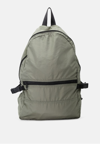 London Rag green Backpack with Adjustable Shoulder Straps 378C8ACB5F11FFGS_1