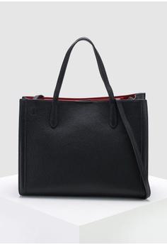 Banana Republic black Tailored Medium Tote Bag 5A111ACB363138GS 1 677a32ddb5596