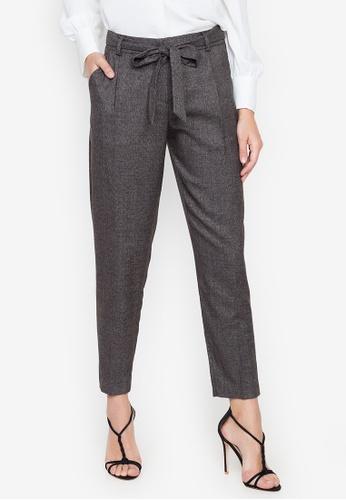 Cortefiel black Laced Slim Fit Trouser 8BE6AAAE4EBCE2GS_1