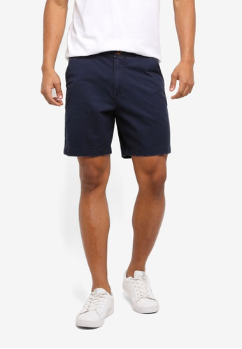 Hollister navy Prep Core Shorts C6F6EAA8B34CDCGS_1