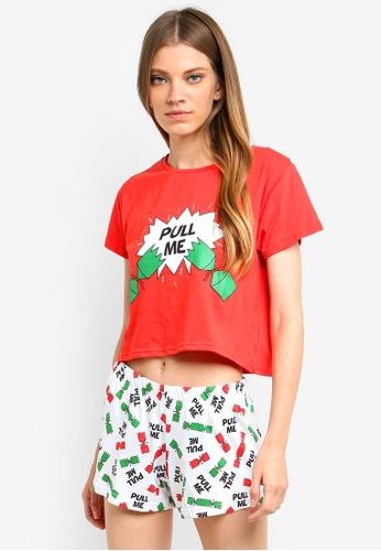 Brave Soul red Pull Me Pyjama Set F0CB1AAEFF28E2GS_1