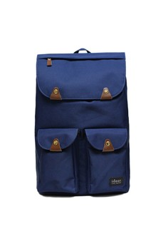 Triango Series Taylor Blueberry Water Repellent Nylon Laptop Backpack