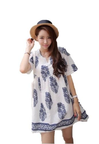 Sunnydaysweety white Super Sale White Short Sleeve One Piece Mini Dress CA200409WGB 69122AA0C964BBGS_1