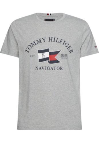 Tommy Hilfiger Tommy Hilfiger Navigator Logo T-Shirt 70FD9AA980FFB6GS_1