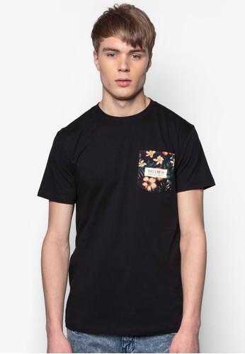Bahama 印花口袋純棉TEE, 服飾, 印esprit 香港圖T恤