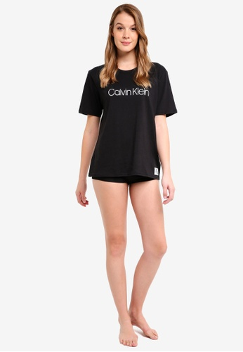Calvin Klein black Short Sleeve Crew Neck - Calvin Klein Underwear 2D91BAA5284680GS_1