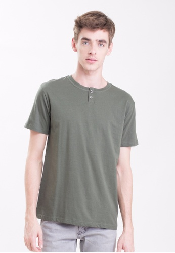 Drum 2 Button Basic Tee - AGN DR425AA0RYCXMY_1