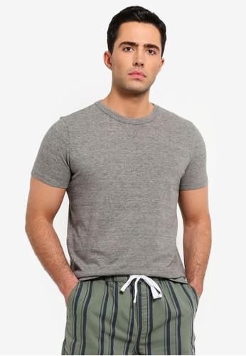 OVS grey Short Sleeve Round Neck T-Shirt A3F58AA6ACF7E4GS_1