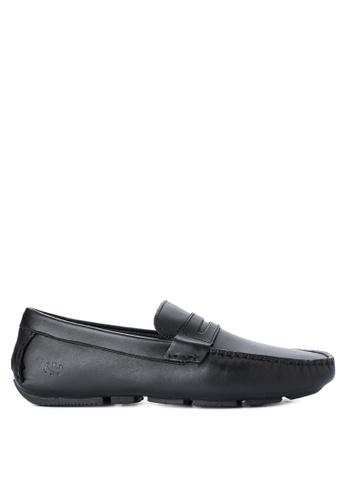 Superga black 488-FGLLININGM Loafers & Moccasins SU138SH17GSKPH_1