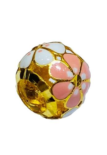 LITZ gold LITZ 916 (22K) Gold Flower Charm GP0210 (0.79g) 292E9AC3856C82GS_1