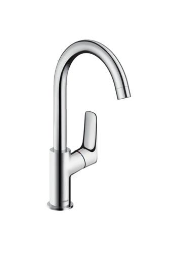 Hansgrohe silver Single Lever Basin Mixer 210 A5AFAHLDB038E9GS_1
