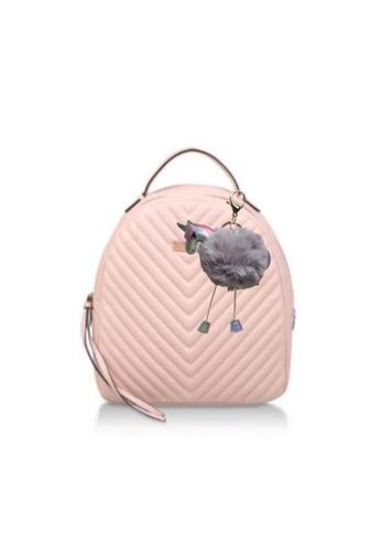 Loveaisyah grey Unicorn Lt Grey Pom Pom Keychain X'mas Gift 20F6FAC9CDFDEDGS_1