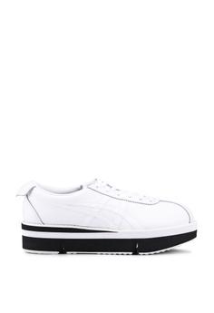 744b29cc08a0c Onitsuka Tiger white Pokkuri Sneakers 3BCE9SH0AADF66GS_1
