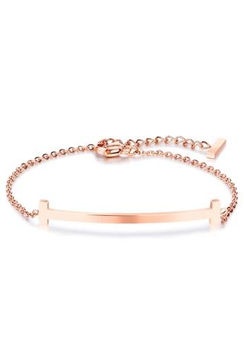 Bullion Gold gold BULLION GOLD Sleek Bar Bracelet Rose Gold FCEFAACE33FED3GS_1
