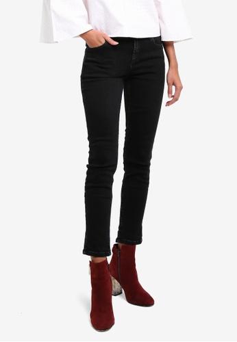 Mango grey Side Slit Slim Jeans MA193AA0ROQNMY_1