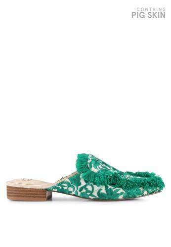 E8 by Miista green Felix Embroidery Slip Ons E8283SH0STIBMY_1