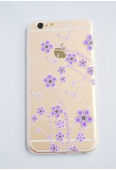 Flowers Transparent Soft Case for iPhone 6/6s