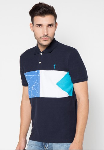 Golfer (Small) Blking Golf Polo