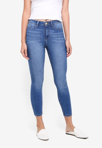Miss Selfridge blue Petite Blue Steffi Jeggings 2C863AAD5C66B7GS_1