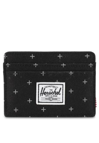 Herschel black Charlie RFID Card Holder 23870ACE7AA322GS_1