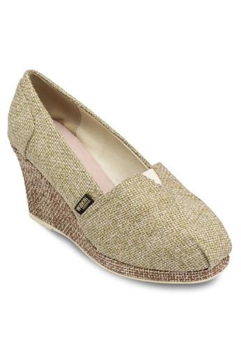 Shingeta 簡約編織楔形鞋, 女鞋, esprit outlet hong kong中跟
