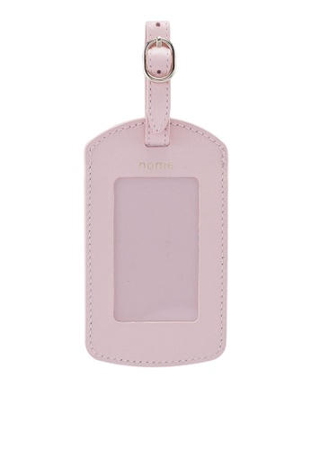 Pop & Suki pink Travel Luggage Tag EE780AC0315D66GS_1