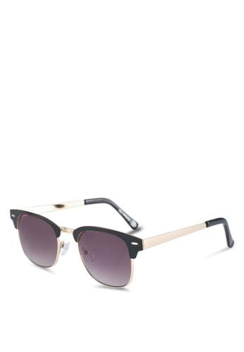 Call It Spring black Bossio Square Sunglasses 607A8GLCEE7B14GS_1