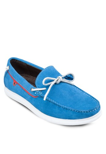 esprit 床上用品蝴蝶結皮革樂福鞋, 鞋, 船型鞋