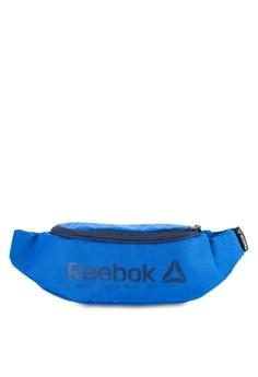 Reebok-拉鍊腰包