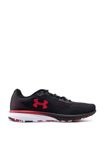 Under Armour black UA Charged Spark Running Shoes 1B933SHD9C5EE3GS_1