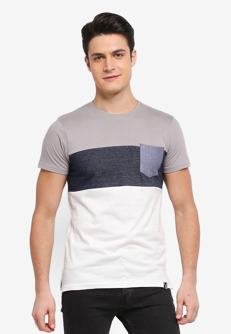 T Light Pocket Shirt Tone White Indicode Clemens Trio Grey Jeans ItA0qIxw