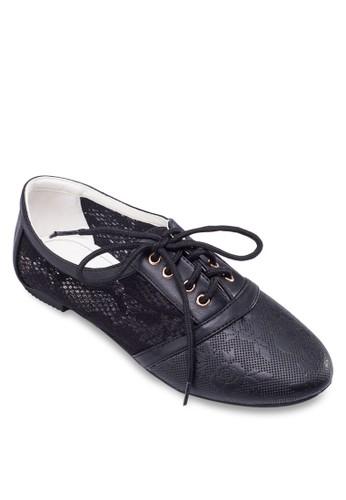 蕾esprit hk store絲繫帶休閒鞋, 女鞋, 鞋